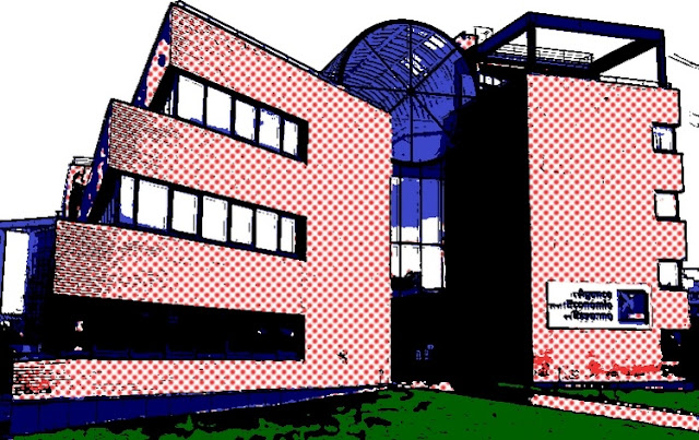 Evry daily photo evry version pop art 5 chambre de commerce et d industrie roy lichtenstein - Chambre du commerce evry ...