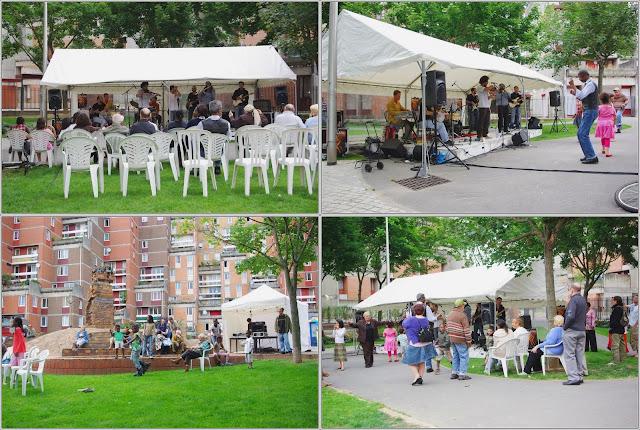 Evry daily photo apero concert a la maison de quartier for Apero a la maison