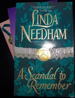 """Book Cover: """"A Scandal to Remember"""""""