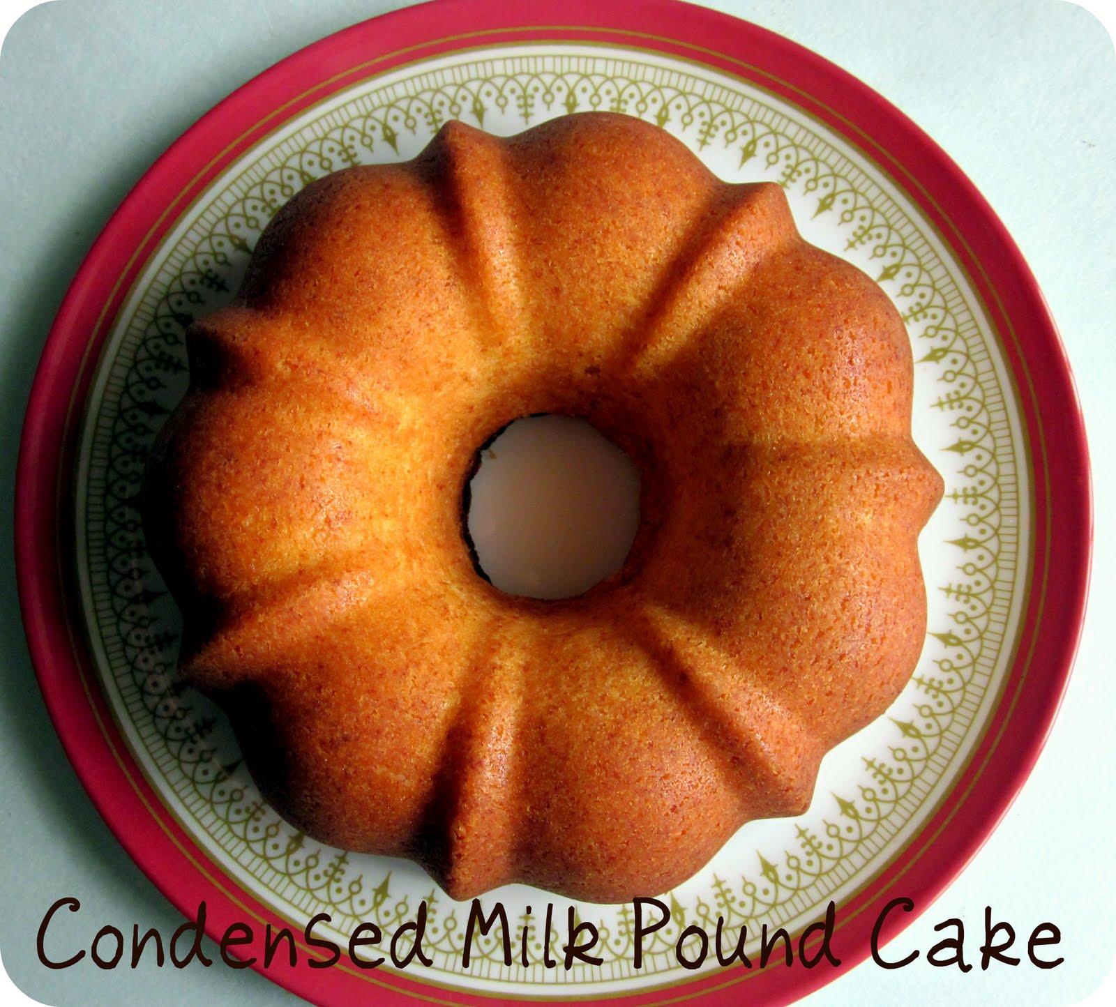 Easycooking Condensed Milk Pound Cake