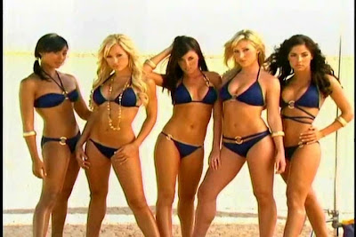 Bigtime Cheerleaders San Diego Charger Girls Bikini Calendar