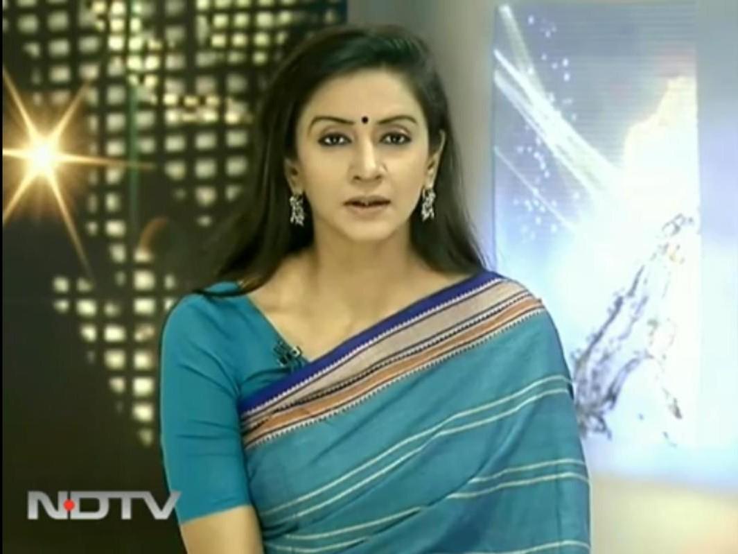 Spicy Newsreaders: Kadambini Sharma of Ndtv india