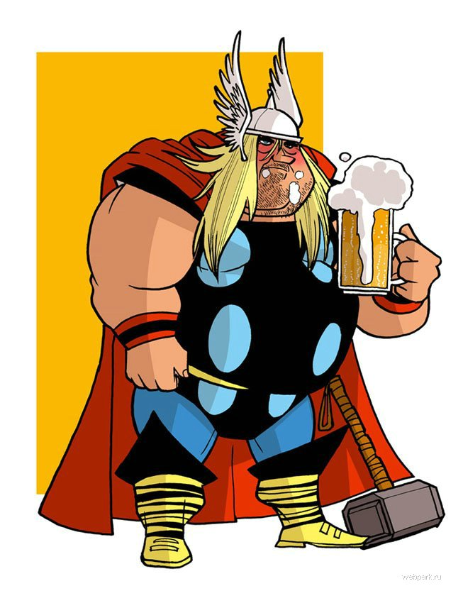 Thor Cartoon