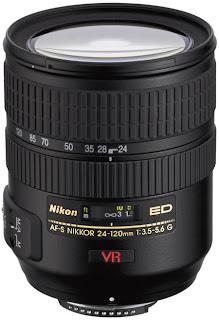 Nikkor 24-120mm lens