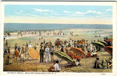 Atlantic Beach Beaufort Morehead City Nc Circa 1933