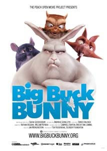 Cartel de Big Buck Bunny