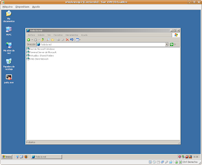 VirtualBox, Entorno de Red