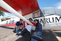 Bersama TaQwa. F. Suasono pemegang record Duration Flight