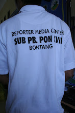 Pengalaman Baru Koe jadi Wartawan PON XVII
