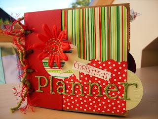 paper bag Christmas planner