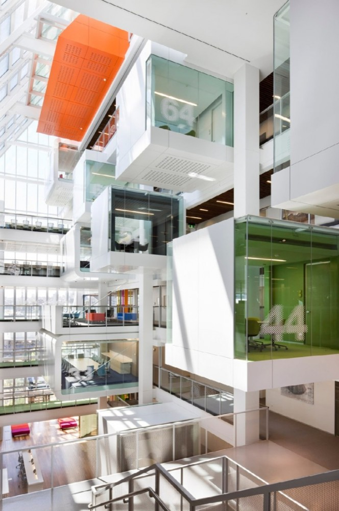 Alberta Norweg Macquarie Bank Clive Wilkinson Architects