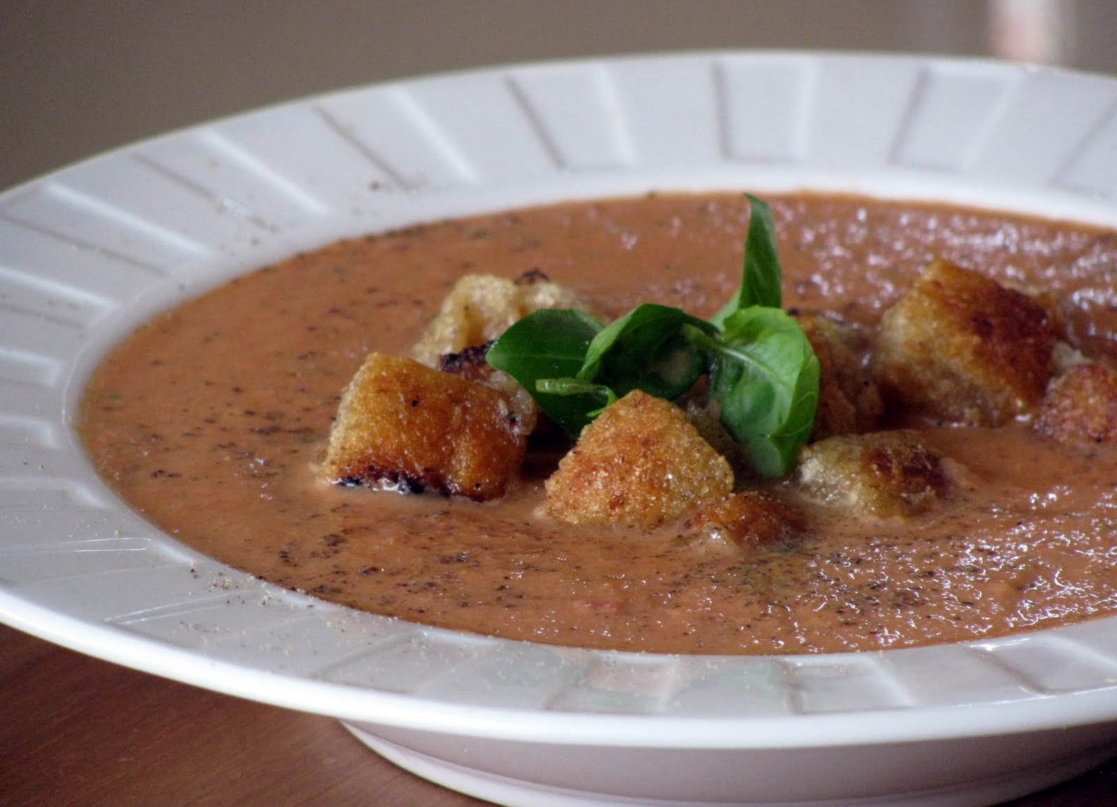 little house of veggies creamy tomato basil soup with