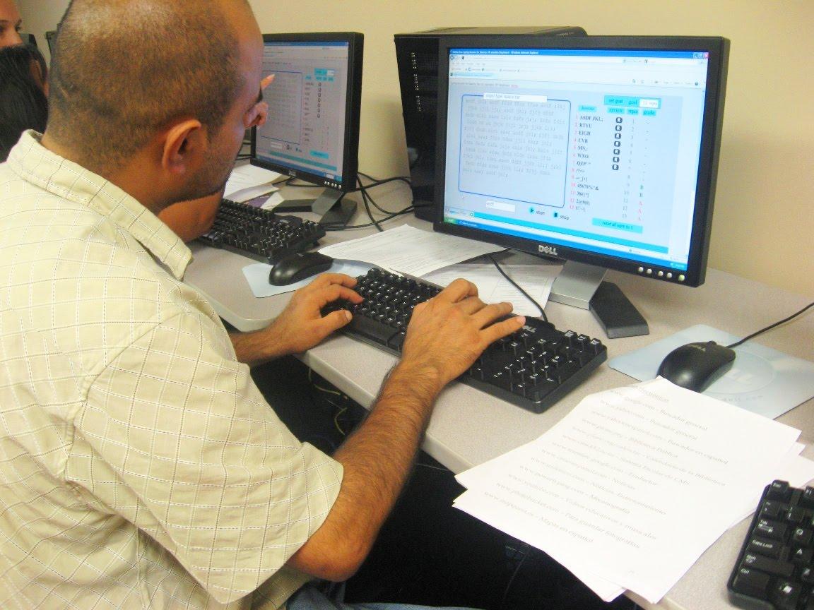 Library In Action Spanish Language Basic Computer Skills