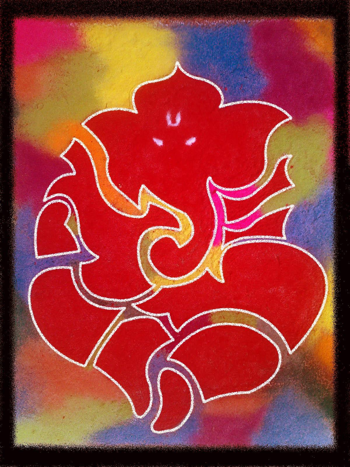 ganesha images for rangoli -#main