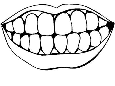 Print Desenhos Desenho De Sorriso Para Pintar Desenho De Dentes