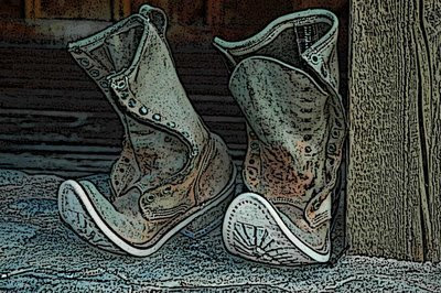 you should have seen the old feet that came out of these boots!