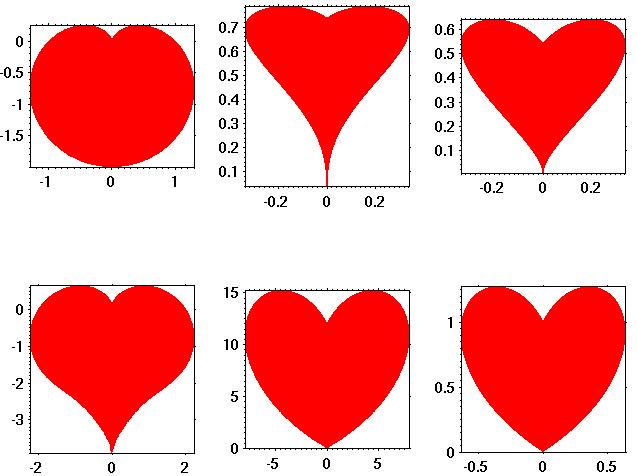 script demo: Plot a heart curve in matlab