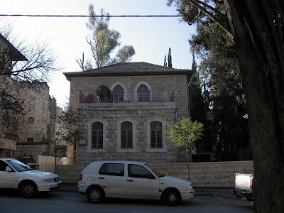 rue ein gedi la maison deliezer ben yehouda le pre de la langue hbraque moderne et le pre du premier enfant des temps modernes auquel ses parents