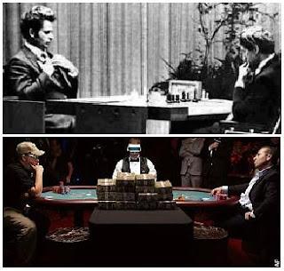 Fischer-Spassky (1972) & Moneymaker-Farha (2003)