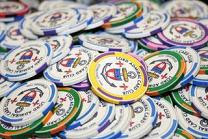 The Lord Admiral Club's specially-designed poker chips