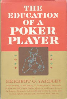 'The Education of a Poker Player' by Herbert O' Yardley