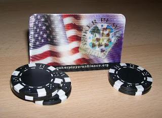 Poker Players Alliance membership card