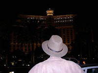 Standing across from the Bellagio