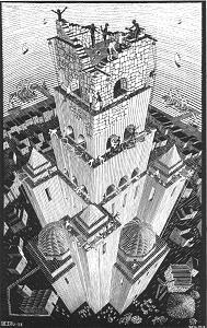 M.C. Escher's 'Tower of Babel'