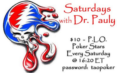 Saturday's with Pauly PLO tourney