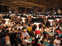 A scene from the 2007 World Series of Poker