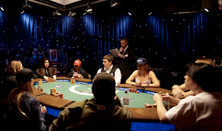 Ladies Event final table