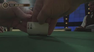 Fishman sees pocket aces