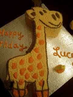 how to make a giraffe cake
