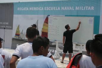 REGATA HEROICA ESCUELA NAVAL MILITAR 2008