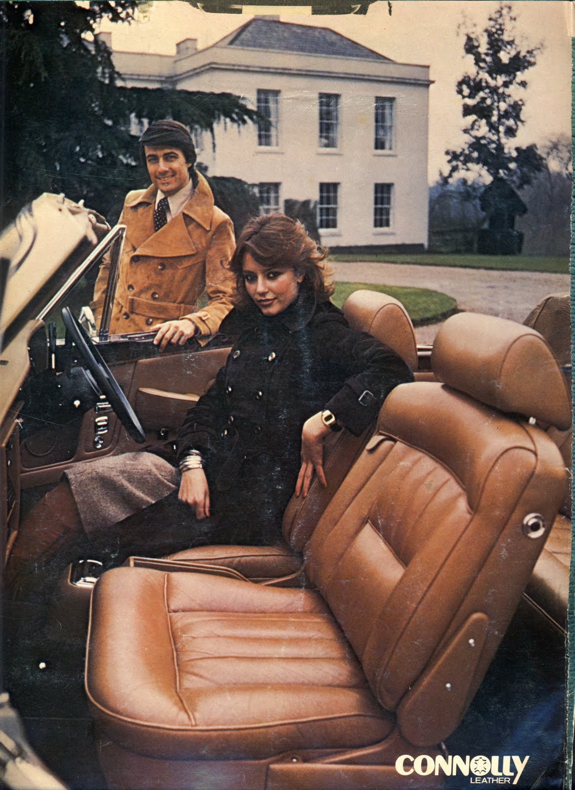 London Motor Cars >> BENTLEY SPOTTING: Connolly Leather ads from 1979