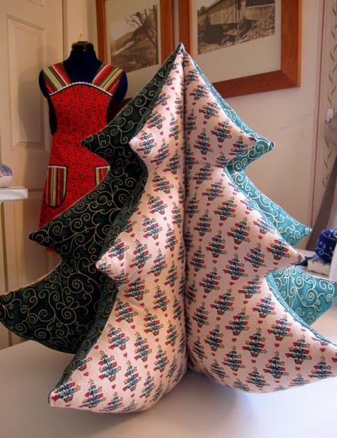 Sew Many Happies Christmas Crafts Stuffed Tree