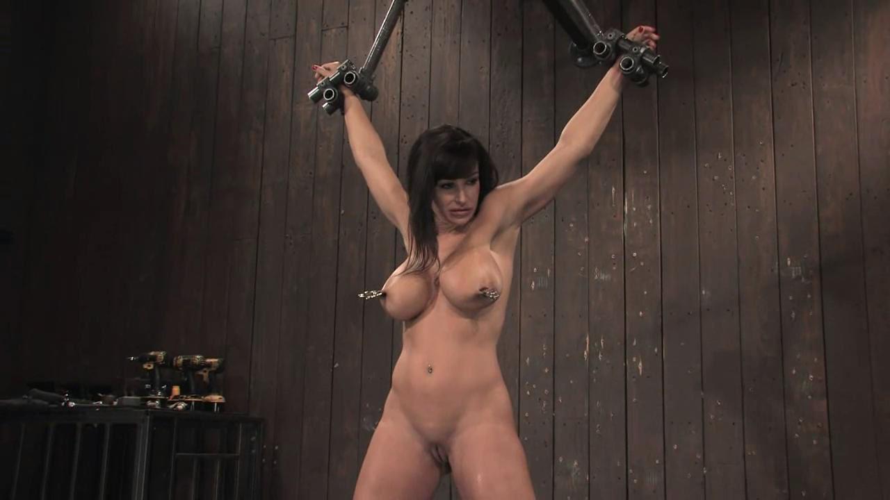 lisa ann bondage