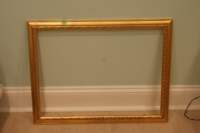 thrift store gilded frame