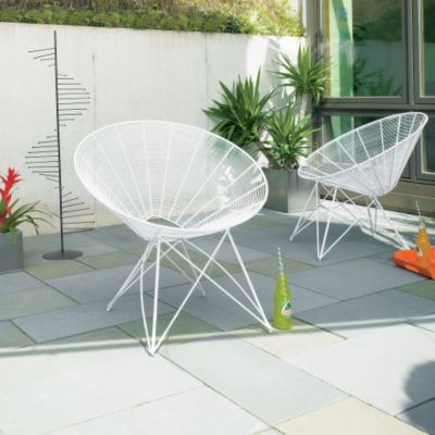 Igloo chair from cb2