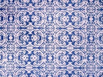 Oscar de la Renta designed rug from elson & company
