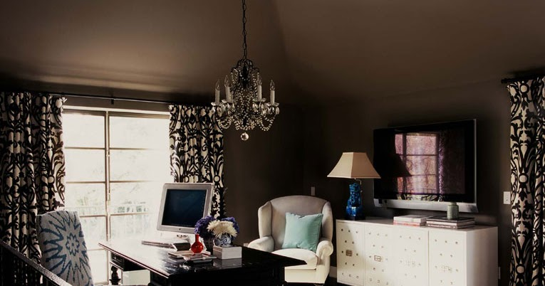 Designer Room Recreate A Study In Chocolate Home Office Goes Gracefully Brown Nbaynadamas Furniture And Interior