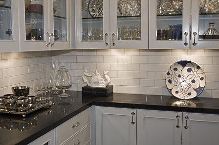 COCOCOZY: November 2008 - White Glass Subway Tile Backsplash