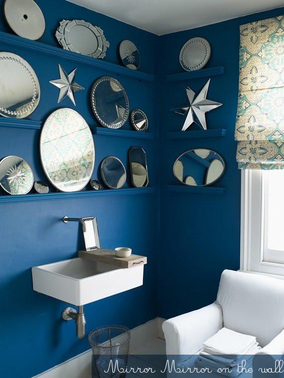 Decoration Vintage Bleu Canard