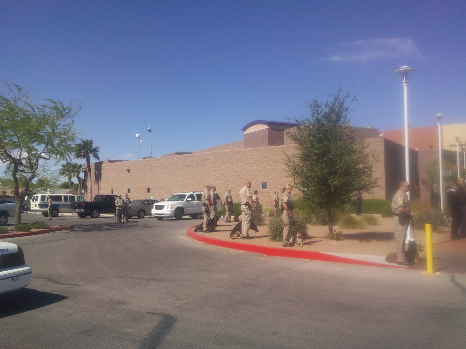 The Las Vegas Badger: Nye County Deputy Sheriff Laid To Rest