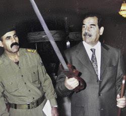 Novelist Saddam Hussein is hanged.