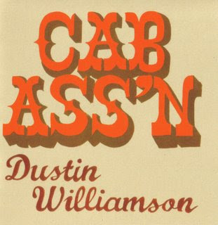 CAB ASS'N Dustin Williamson LAME HOUSE PRESS