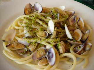 Senzapanna dieta spaghetti con telline e pistacchi for Ricette culinarie