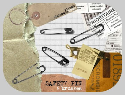 Safety Pin brushes