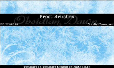 Frost Texture Brushes