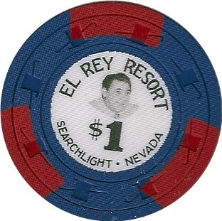 $1.00 El Rey Poker Chip
